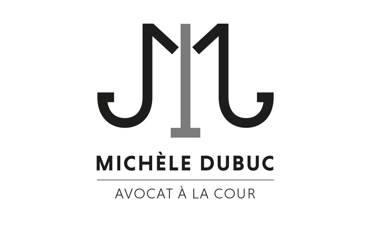 Logo Michèle Dubuc cabinet d'avocat